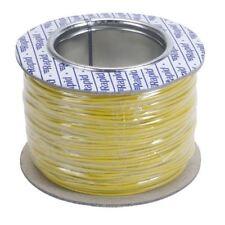 Rapid GW010450 Equipment Wire Yellow 7/0.2 (100m Reel)