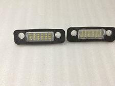 PLAFONES LED DE MATRICULA LUCES LED FORD MONDEO MK2 96-11 HOMOLOGADO E4 CE