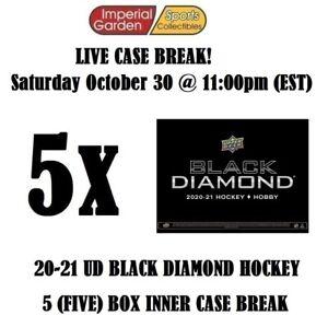 2020-21 BLACK DIAMOND HOCKEY 5 BOX CASE BREAK #2773 - Buffalo Sabres