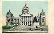 Des Moines IA~Capitol~Dome Covered in 23 Carot Gold~~Detroit Pub Co 11274~1910