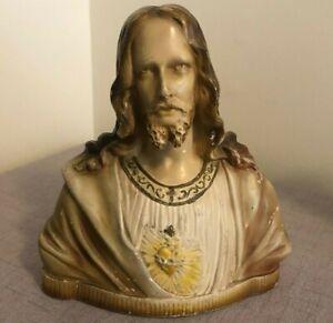 Jesus Chalkware Bust