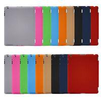 Hard PU Plastic Back Case Cover Ultra Slim Smart For Apple iPad 2 3 4 Air/5 Mini