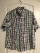 Cutter & Buck Men's Button-Down Short Sleeve Shirt Size Xl