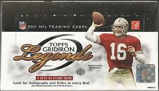 2011 Topps Gridiron Legends Football Factory Sealed Hobby Box - 4 Hits per Box