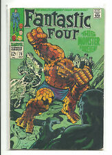 MARVEL (1961) FANTASTIC FOUR #79 THING COVER - VG