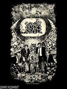 NAPALM DEATH cd cvr SCUM Official SHIRT Size XL new