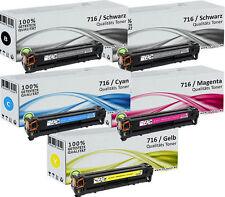 5x TONER für CANON LBP-5050N MF8030CN MF8040CN MF8050CN MF8080CW i-SENSYS SET