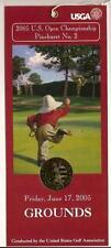 2005 PGA US Open Ticket Friday 6 17 2005 Campbell