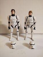 Stormtrooper Han And Luke Black Series