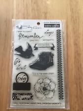 Teresa Collins Designs Clear Acrylic Stamps (Everyday Moments)