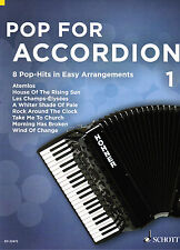 Acordeon notas: pop for accordion 1 - 8 Pop Hits-leves ciclo medio