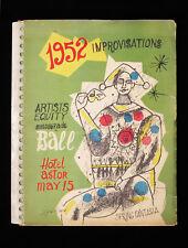 1952 IMPROVISATIONS Original Lithographs Milton Avery Hans Hoffman Max Weber