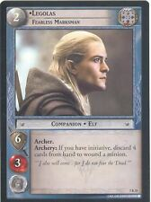 Lord Of The Rings CCG Card RotK 7.R25 Legolas, Fearless Marksman