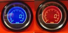 Rpm de velocidad de coche 60 mm Evo 10000 Rpm Calibre Medidor De Pantalla Digital LCD Rojo Y Azul