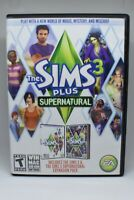 Sims 3 Plus Supernatural (Windows / Mac 2012) 2 Discs