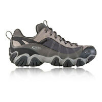 Oboz Mens Firebrand II B-DRY Walking Shoes Grey Sports Outdoors Trainers