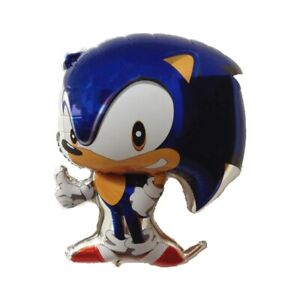 """SONIC THE HEDGEHOG  26"""" Foil Balloon Birthday Party Decoration"""