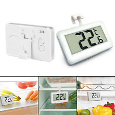 Digital LCD Freezer Fridge Thermometer Waterproof Hanging Hook Magnet Stand