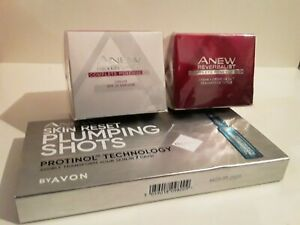 Anew Reversalist Bundle Day and Night cream SPF 25 & Anew Skin Plumping Shots