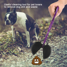 Pet Dog Poop Scooper Animals Puppies Waste Remover Picking Up Clip (Purple)