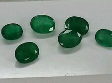 Loose Gemstone natural Emerald 9x7 mm oval high end sakota Maine.2 stone 2.44ct