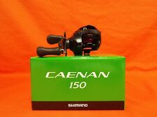 SHIMANO Caenan 150 Low Profile Baitcast Reel 6.3:1 Gear Ratio #CAE-150A RH