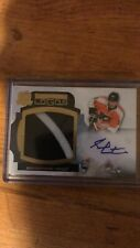 2011-12 UD Upper Deck The Cup Limited Logos  Sean Couturier  /50  Auto  Patch