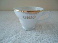 "Vintage Small Ceramic "" Ohio "" Tea Cup "" BEAUTIFUL COLLECTIBLE TEA CUP """