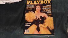 Playboy Magazine MAR 1993 MIMI ROGERS; STRIP CLUBS; ANNE RICE; LAURA DERN