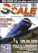 FLYING SCALE MODELS MAGAZINE 2003 MAY LATECOERE 28 FREE PLANS, PFALZ EINDEKKERS