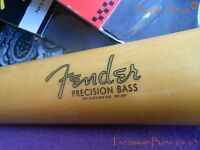 Replacement decal for 1961-1963 Fender Precision Bass Decal Vintage Logo