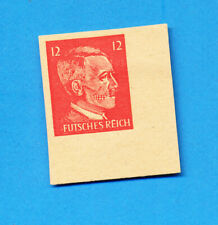 GERMANY - Michel 16  imperforate, unused hinged - American Propaganda stamp -
