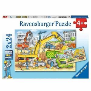 Ravensburger - Hard at Work 2x24 pieces Jigsaw Puzzles 4+