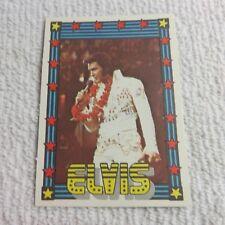 1978 Monty Gum - ELVIS PRESLEY - Club Card From Holland - (Blank Back) - Card 45