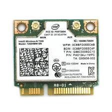 Intel Wireless-N Wifi 7260 7260HMW BN 7260HMWBN PCIe Half Mini Card