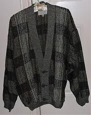 Designer men's sweater circa 1990s Zonda Nellis Vancouver Canada. Hand woven.