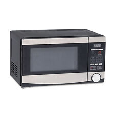 Avanti 0.7 Cu.ft Capacity Microwave Oven 700 Watts Stainless Steel and Black