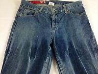 "GUESS Jeans Womens Size 28 Tie Dye Unhemmed Denim Pants 31"" Actual Waist Cotton"