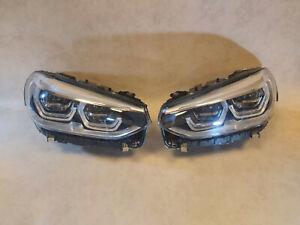 BMW X3 G01 G08 F97 X4 G02 F98 GENUINE Full Led Adaptive Headlight SET EU Spec