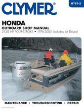 Clymer Honda Shop Manual 2-130 HP 4 Stroke 1976-2005