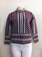 Tory Burch Women's Cashmere/Wool Thick Diamond Sweater 38 EU/Small US