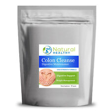 30 Colon Cleanse Detox FORMULA con Aloe Vera Fennel Psyllium Lolla Ortica, ecc.