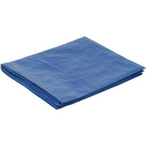 3.6m x 5.4m Tarpaulin Poly Blue Polyethylene Water Resistant Eyelets 1.2m x 1.8m