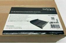 """Startech CABSHELFV 2U 16"""" Inch Universal Depth Shelf for 19"""" Wide Server Rack"""