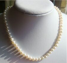"Sterling Silver 13 - 15.99"" Fine Pearl Necklaces & Pendants"