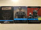 Neill Blomkamp's Films Collection Steelbook