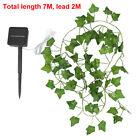 50/200 Led Solar Powered Ivy Fairy String Lights Garden Outdoor Wall Fence Light