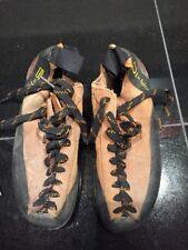Five Ten 5.10 Asym Suede Rock Climbing Shoes Size 6 1/2 womens