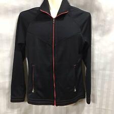Adidas Golf Womens Jacket Small Black Sports Putter Wedge