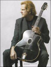 John Jorgenson Signature Gitane DG330 Tuxedo Gypsy Guitar 8 x 11 pin-up photo
